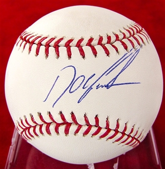 "Dwight ""Doc"" Gooden Autographed Official Major League Baseball"