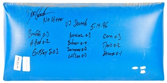 """Dwight Gooden Autographed NY Yankees Stadium """"No Hitter"""" Wall Piece (Steiner)"""