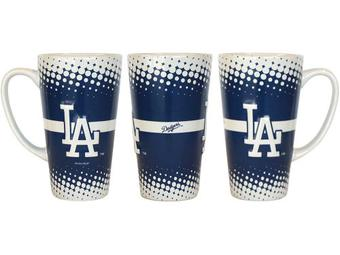 Boelter Los Angeles Dodgers Sculpted Latte Coffee Mug