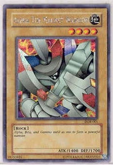 Yu-Gi-Oh Promo Single Alpha The Magnet Warrior Secret Rare (DOR-001)