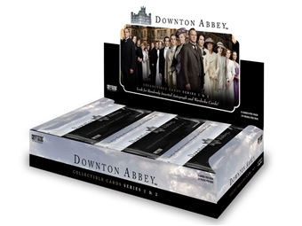 Downton Abbey Seasons 1 & 2 Trading Cards 12-Box Case (Cryptozoic 2013) (Presell)