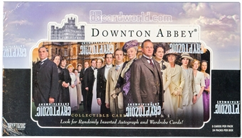 Downton Abbey Seasons 1 & 2 Trading Cards Box (Cryptozoic 2013)