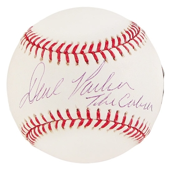 Dave Parker Autographed Official Major League Baseball