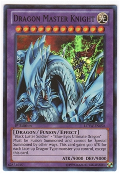 Yu-Gi-Oh Legendary Collection 3 Single Dragon Master Knight Super Rare - SLIGHT PLAY (SP)