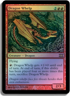 Magic the Gathering 2010 Single Dragon Whelp UNPLAYED (NM/MT) 4x Lot