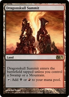 Magic the Gathering 2013 Single Dragonskull Summit Foil