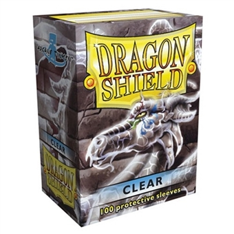 Dragon Shield Card Sleeves - Clear (100)