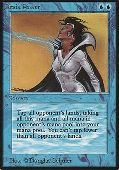 Magic the Gathering Beta Single Drain Power - SLIGHT PLAY (SP)