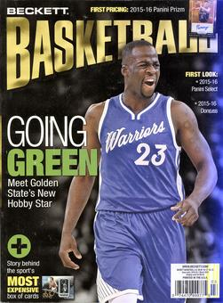 2016 Beckett Basketball Monthly Price Guide (#282 March) (Draymond Green)