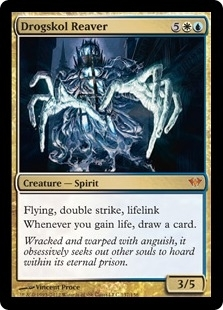 Magic the Gathering Dark Ascension Single Drogskol Reaver - NEAR MINT (NM)