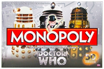 Doctor Who Monopoly Game (USAopoly)