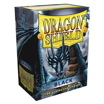 Dragon Shield Card Sleeves - Black (100)