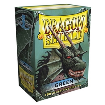 Dragon Shield Card Sleeves - Green (100)