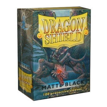 Dragon Shield Card Sleeves - Matte Black (100)