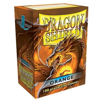 Dragon Shield Card Sleeves - Orange (100)