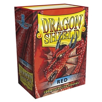 Dragon Shield Card Sleeves - Red (100)