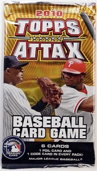 2010 Topps Attax Baseball Booster Pack