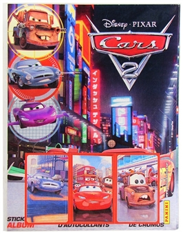 2010/11 Panini Cars 2 Sticker Album