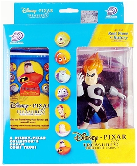 Disney Pixar Treasures Trading Cards Box with Syndrome Figure