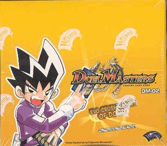WOTC DuelMasters Evo-Crushinators of Doom Booster Box