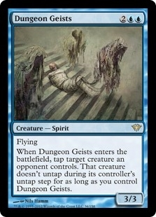 Magic the Gathering Dark Ascension Single Dungeon Geists Foil