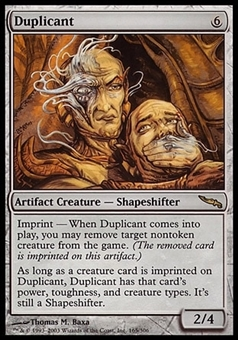 Magic the Gathering Mirrodin Single Duplicant FOIL - SLIGHT PLAY (SP)