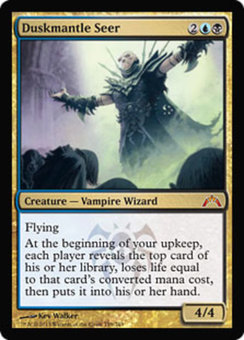 Magic the Gathering Gatecrash Single Duskmantle Seer Foil