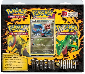 Pokemon Dragon Vault 3-Pack