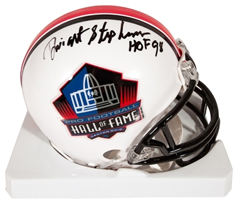 Dwight Stephenson Autographed Miami Dolphins Hall of Fame Football Mini Helmet