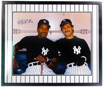 Dave Winfield Autographed & Framed New York Yankees 16x20 Photo Steiner COA