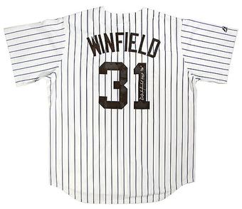 Dave Winfield Autographed New York Yankees Replica Baseball Jersey