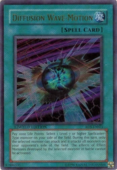Yu-Gi-Oh Rise of Destiny Single Diffusion Wave-Motion Ultra Rare (RDS-ENSE1)