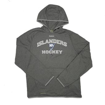 New York Islanders Reebok Grey TNT Performance Hoodie (Adult L)