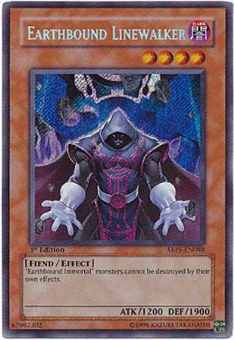 Yu-Gi-Oh Absolute Powerforce Single Earthbound Linewalker Secret Rare