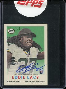 2016 Topps Hawaii Summit Exclusive 2013 1959 Mini Autographs #8 Eddie Lacy 1/1