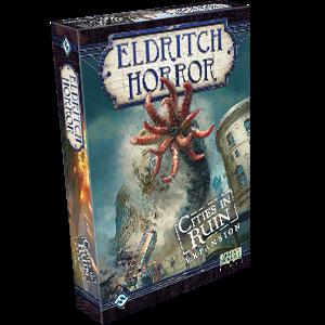 Eldritch Horror Board Game: Cities in Ruin Expansion (FFG)