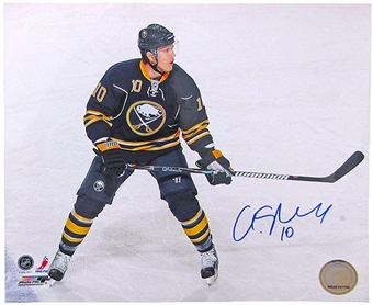 Christian Ehrhoff Autographed Buffalo Sabres 8x10 Hockey Photo