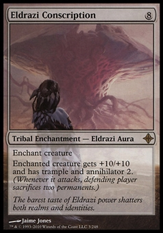 Magic the Gathering Single Eldrazi Conscription FOIL - SLIGHT PLAY (SP)