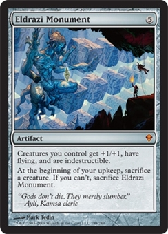 Magic the Gathering Zendikar Single Eldrazi Monument Foil