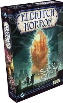 Eldritch Horror Board Game: Signs of Carcosa Expansion (Fantasy Flight Games) (Presell)