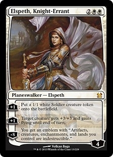 Magic the Gathering Modern Masters Single Elspeth, Knight-Errant UNPLAYED (NM/MT)