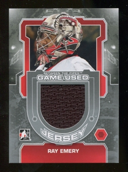 2012/13 In the Game Between The Pipes Jerseys Silver #M60 Ray Emery /140