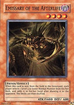 Yu-Gi-Oh Ancient Sanctuary Single Emissary of the Afterlife Super Rare (AST-076)