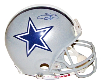 Emmitt Smith Autographed Dallas Cowboys Proline Helmet (JSA)