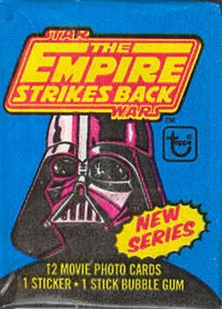 Star Wars Empire Strikes Back Series 2 Wax Pack (1980 Topps)