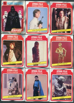 Star Wars The Empire Strikes Back Series 1 132 Card Set Plus 33 Stickers (1980 Topps)