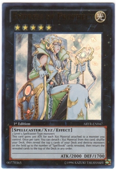 Yu-Gi-Oh Abyss Rising Single Empress of Prophecy Ultra Rare
