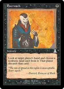 Magic the Gathering Urza's Destiny Single Encroach Foil