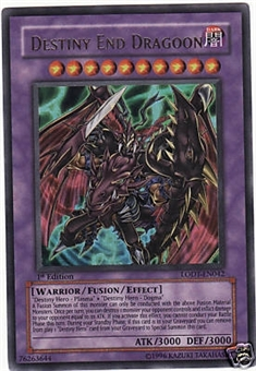 Yu-Gi-Oh Light of Destruction Single Destiny End Dragoon Ultra Rare (LODT-EN042)