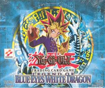 Upper Deck Yu-Gi-Oh Blue Eyes White Dragon Unlimited Booster Box